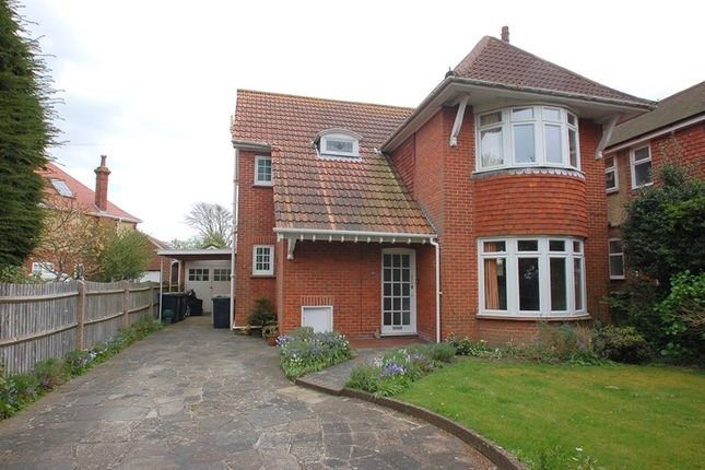 Thumbnail Detached house for sale in Anglesey Road, Alverstoke, Gosport