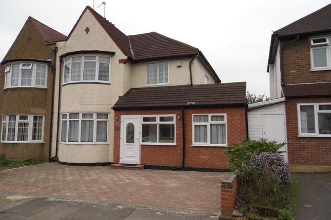 Thumbnail Property to rent in Hervey Close, Finchley, London