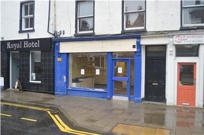 Thumbnail Retail premises to let in 35 Castle Street, Forfar, Angus