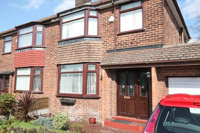 Thumbnail Semi-detached house to rent in Botany Road, Eccles, Manchester