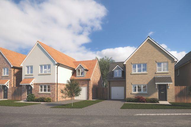 Thumbnail Detached house for sale in Linton Road, Balsham, Cambridge