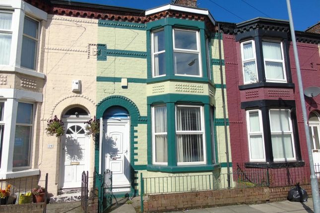 Thumbnail Terraced house to rent in Shelley Street, Bootle