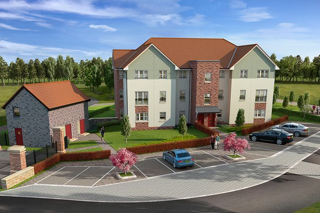 "Thumbnail Flat for sale in ""Bruce"" at Cherrytree Gardens, Bishopton"