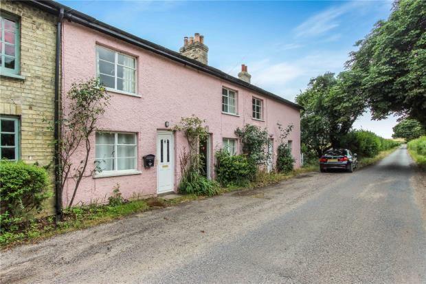 Thumbnail End terrace house for sale in Ickleton Grange Cottages, Grange Road, Ickleton, Essex
