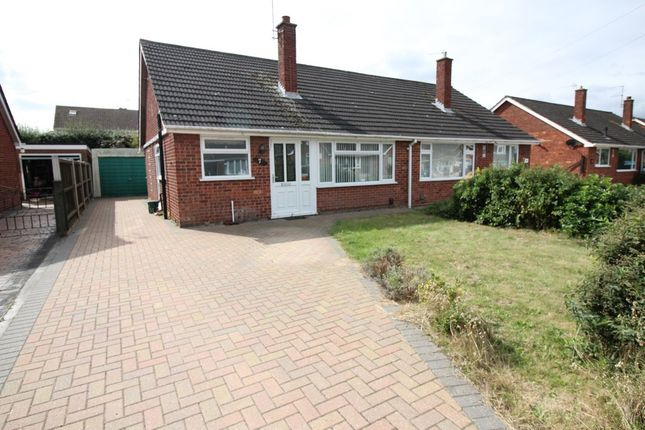 Thumbnail Semi-detached bungalow for sale in Lindsay Road, Sprowston, Norwich