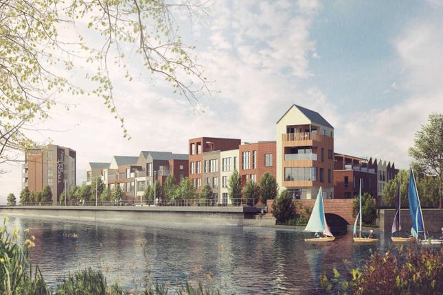 Thumbnail Town house for sale in Waterfront Mews, Nottingham