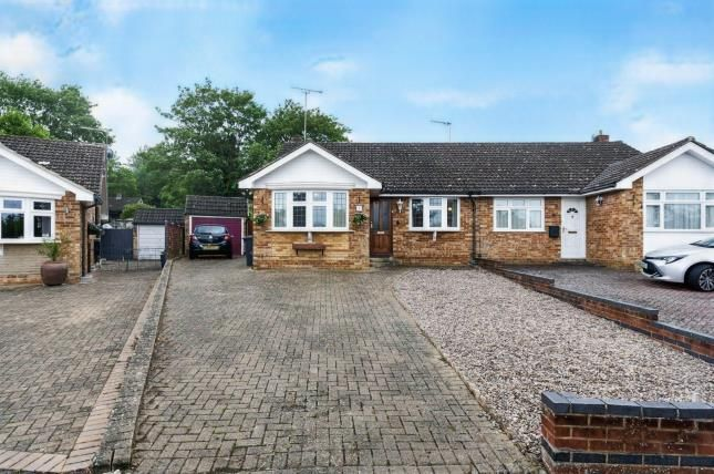Thumbnail Bungalow for sale in Coxs Close, Sharnbrook, Bedford, Bedfordshire