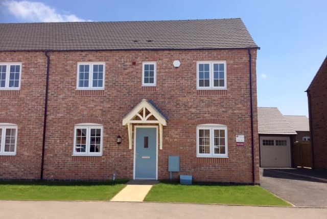 Thumbnail Semi-detached house for sale in The Lichfield C, Burton Road Tutbury, Staffordshire