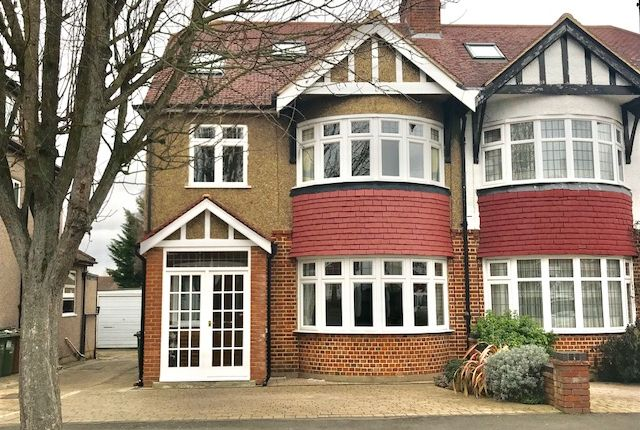 Thumbnail Semi-detached house for sale in Wrayfield Road, Cheam