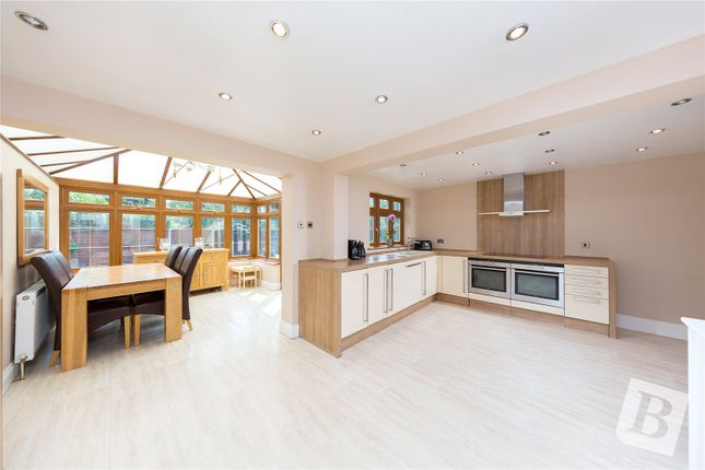 Thumbnail Semi-detached house for sale in Longwood Close, Upminster