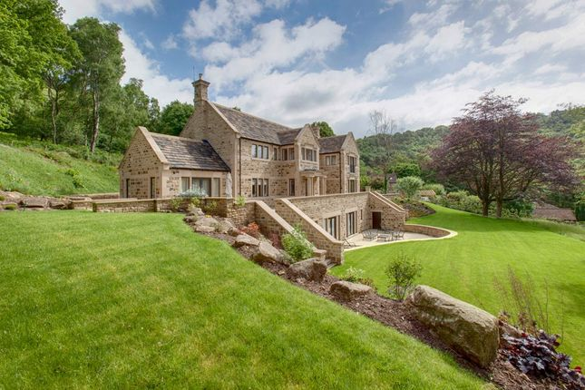 Thumbnail Detached house for sale in Upper Padley, Grindleford, Hope Valley, Derbyshire