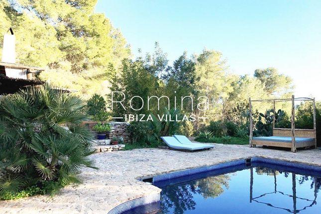 Pool Terraces of Santa Gertrudis De Fruitera, Ibiza, Balearic Islands, Spain