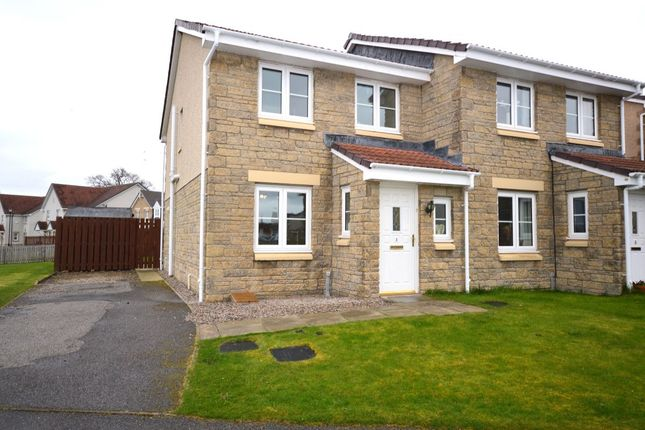 Thumbnail Semi-detached house for sale in Dellness Park, Inverness