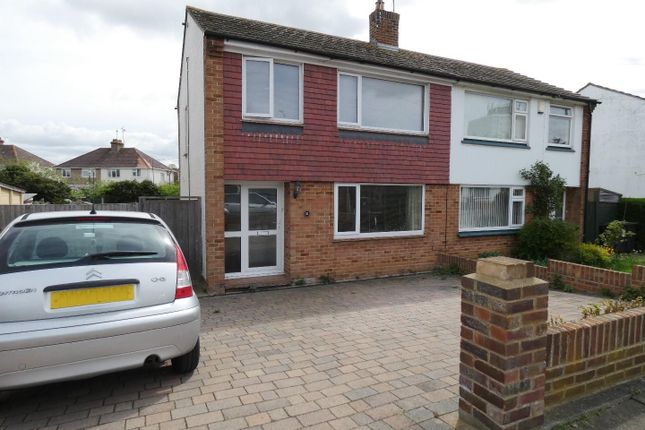 Thumbnail Semi-detached house to rent in Millfield Manor, Whitstable