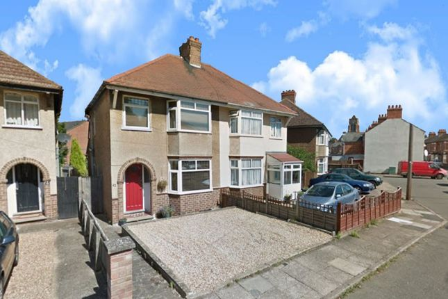 Thumbnail Semi-detached house to rent in Bowden Road, Northampton