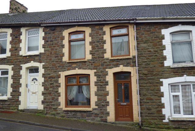 Thumbnail Terraced house for sale in Herbert Street, Blaengarw, Bridgend