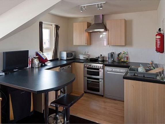 Shared Kitchen of Apt 2, The Foundry, 43 Woodgate, Loughborough, Leicestershire LE11