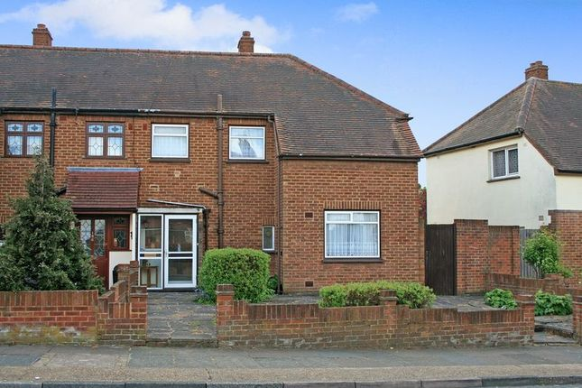 Thumbnail Semi-detached house for sale in Parkside Avenue, Marshalls Park, Romford