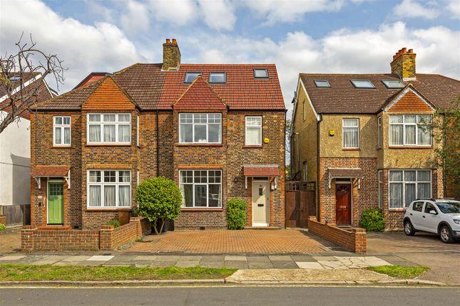 Thumbnail Semi-detached house for sale in Poplar Road, London