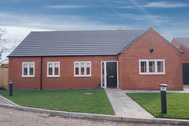 Thumbnail Detached bungalow for sale in Bagnall Lock, Alrewas, Burton-On-Trent