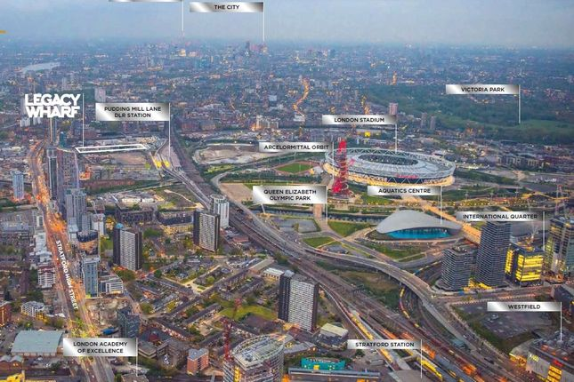 Thumbnail Flat for sale in City Court Block, Cooks Road, Stratford, London
