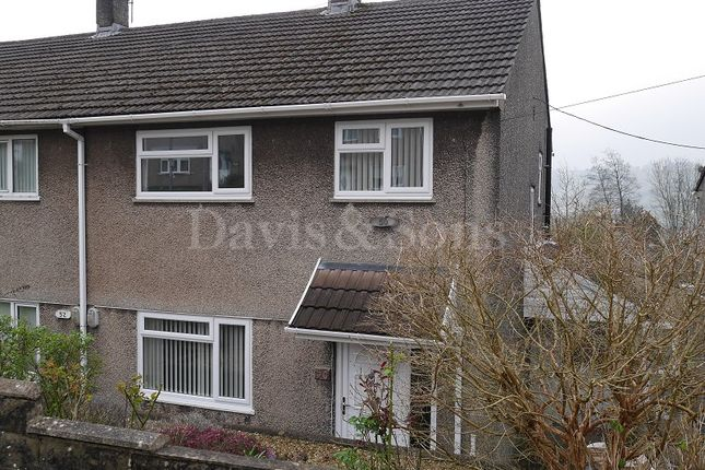 Thumbnail Semi-detached house for sale in Elm Drive, Risca, Newport.