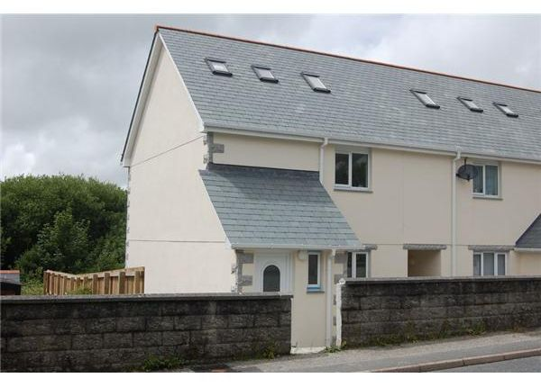 Thumbnail End terrace house for sale in Sycamore Court, Foxhole, St. Austell