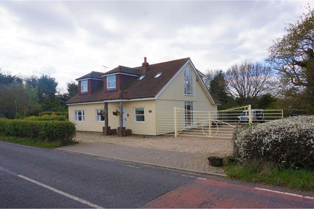 Thumbnail Detached house for sale in Dowsett Lane, Billericay