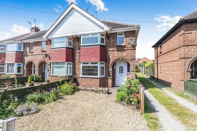Thumbnail Semi-detached house for sale in Graham Road, St Johns, Worcester