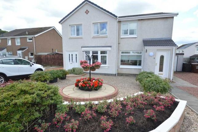 Thumbnail Semi-detached house for sale in Carrick Vale, Cleland, Motherwell