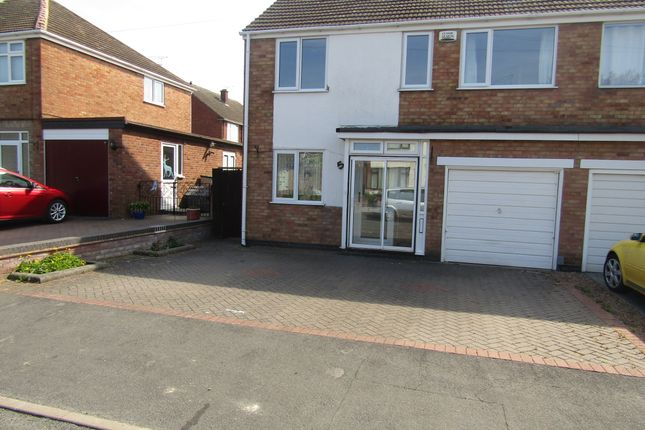 Thumbnail Semi-detached house to rent in Morse Road, Leamington Spa