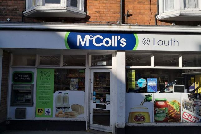 Thumbnail Retail premises for sale in Louth, Lincolnshire