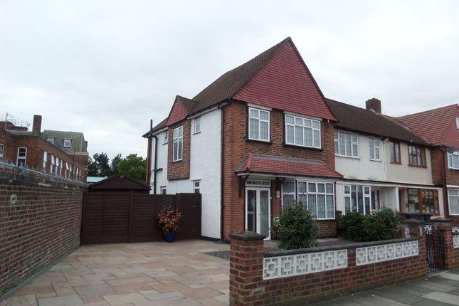Thumbnail End terrace house for sale in Conisborough Crescent, London