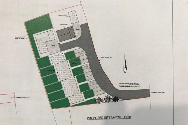 Road Plan of Church Lane, Crowle, Scunthorpe DN17