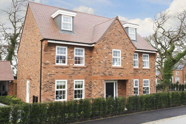 "Thumbnail Detached house for sale in ""Lichfield"" at Adlington Road, Wilmslow"