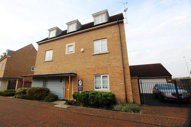 Thumbnail Detached house to rent in Oliver Road, Hampton Vale, Peterborough
