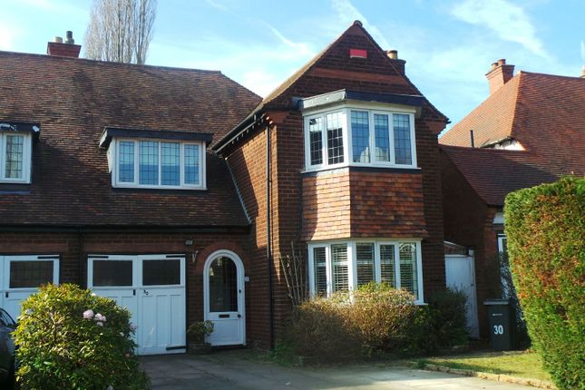 Thumbnail Semi-detached house for sale in Emmanuel Road, Wylde Green, Sutton Coldfield