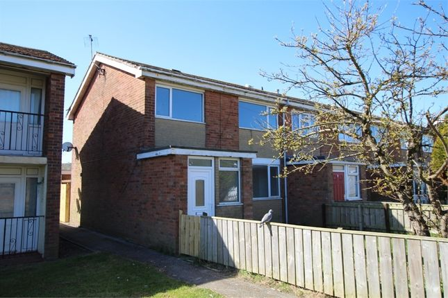 Thumbnail End terrace house to rent in Ryecroft Drive, Withernsea, East Riding Of Yorkshire