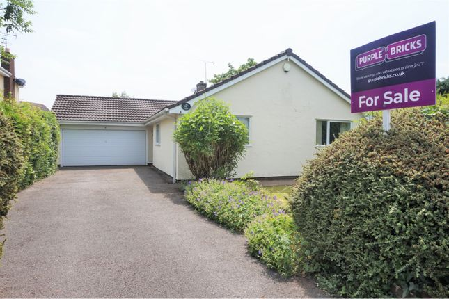 Thumbnail Detached bungalow for sale in Norwood Drive, Westminster Park, Chester