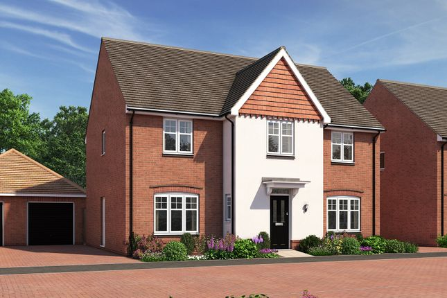 "Thumbnail Detached house for sale in ""The Railton"" at Moormead Road, Wroughton, Swindon"