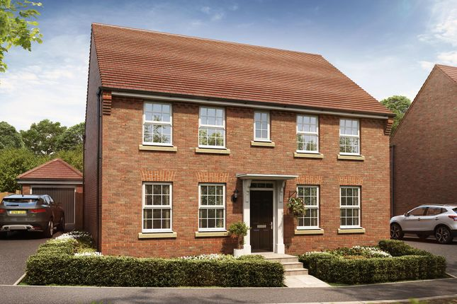 "Thumbnail Detached house for sale in ""Chelworth"" at Pyle Hill, Newbury"
