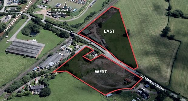 Thumbnail Commercial property for sale in Land At Tattenhall Road, Newton By Tattenhall, Chester, Cheshire