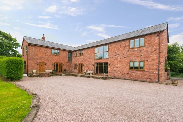 Thumbnail Detached house for sale in Lodge Lane, Farington Moss, Leyland