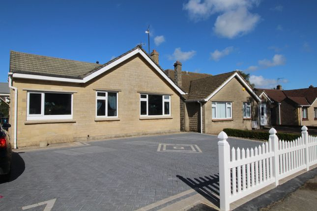Thumbnail Detached bungalow to rent in Sadlers Mead, Chippenham