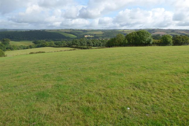 Thumbnail Land for sale in High Bickington, Umberleigh