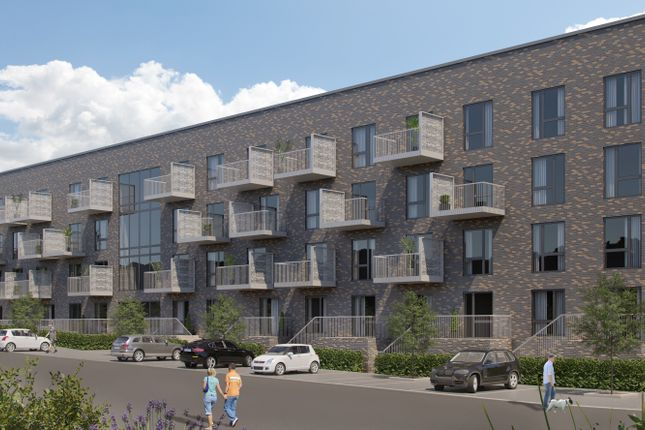 Thumbnail Flat for sale in Henrietta Way, Campbell Park, Milton Keynes