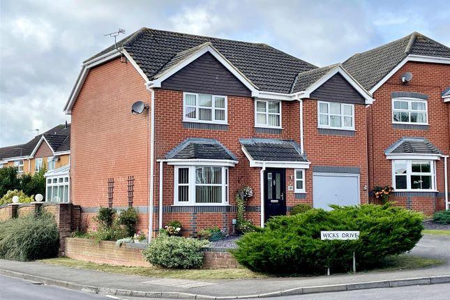 Thumbnail Detached house for sale in Wicks Drive, Pewsham, Chippenham