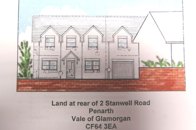Thumbnail Semi-detached house for sale in Stanwell Road, Penarth