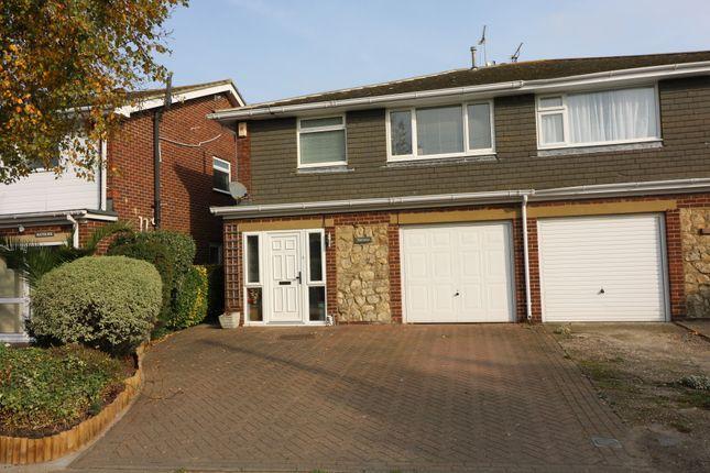 Thumbnail Semi-detached house to rent in Sandown Road, Sandwich