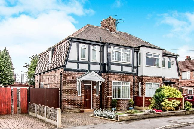 Thumbnail Semi-detached house for sale in Berwick Avenue, Heaton Mersey, Stockport